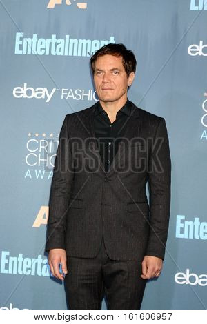 LOS ANGELES - DEC 11:  Michael Shannon at the 22nd Annual Critics' Choice Awards at Barker Hanger on December 11, 2016 in Santa Monica, CA
