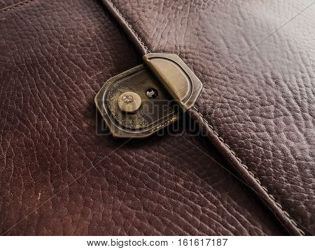 The Background Image of the  genuine leather