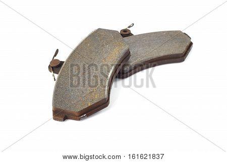 Old Brake Pads