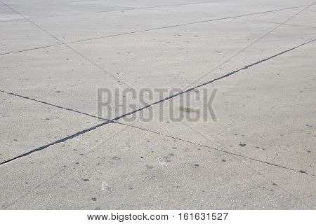 abstract line runway empty concrete road background