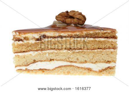 Cake With Walnut