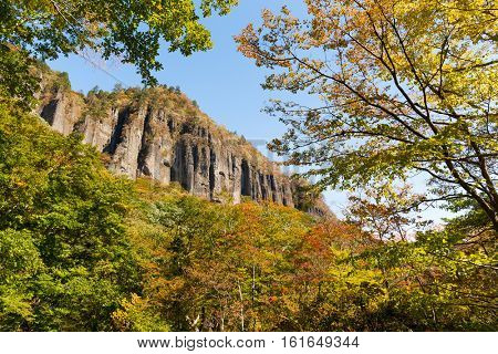 Banji Iwa, Volcanic rock in Japan
