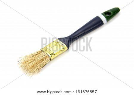 paint brush. paint brush isolated on white background