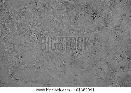Cement Wall Texture Background Black and White