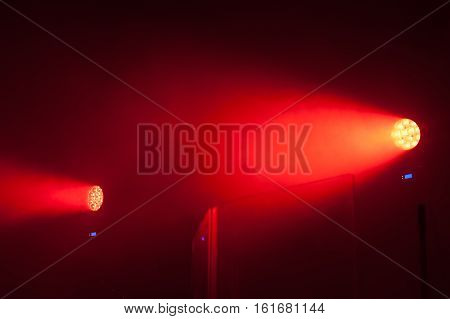 Modern Red Led Scenic Spot Lights