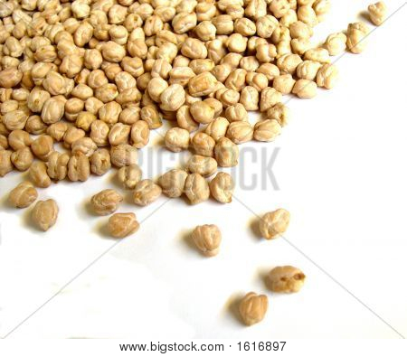 Chick Peas Scattered