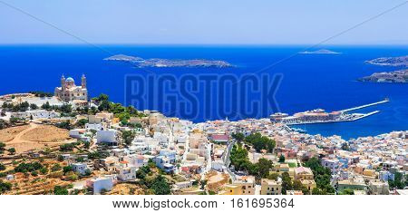 Traditional Greece series - Syros island, capital of Cyclades