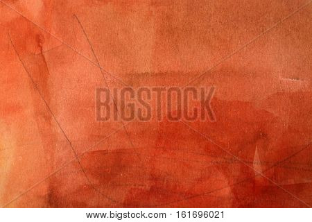 Handpainted red watercolor backgrounds abstract paper grungy art