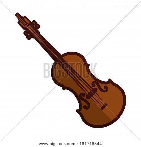 violin or viola icon image vector illustration design