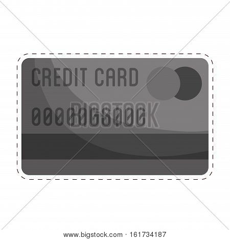 credit or debit card icon image vector illustration design