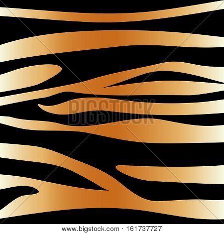 tiger animal print pattern image vector illustration design