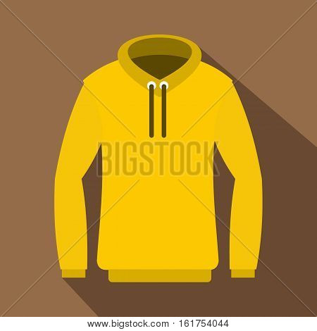 Hoody icon. Flat illustration of hoody vector icon for web