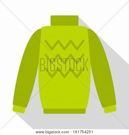 Pullover icon. Flat illustration of pullover vector icon for web