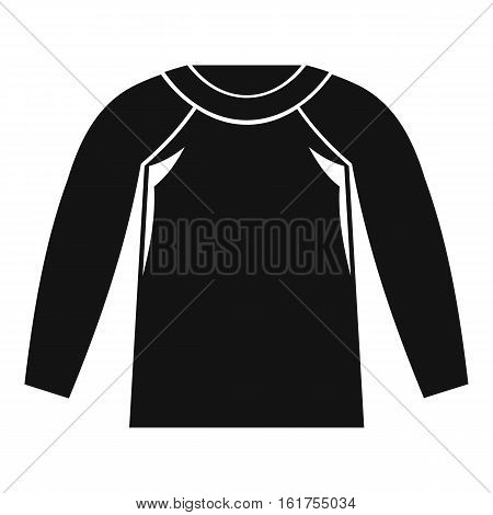 Sports jacket, icon. Simple illustration of sports jacket, vector icon for web