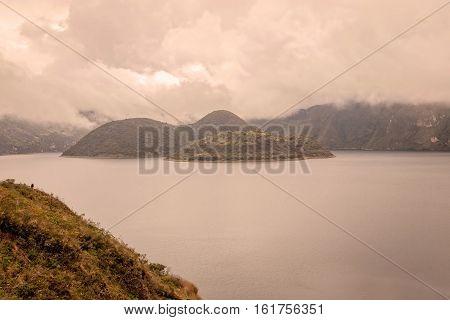 Cuicocha Crater Lake Reserve Cotacachi Cayapas Ecuador South America