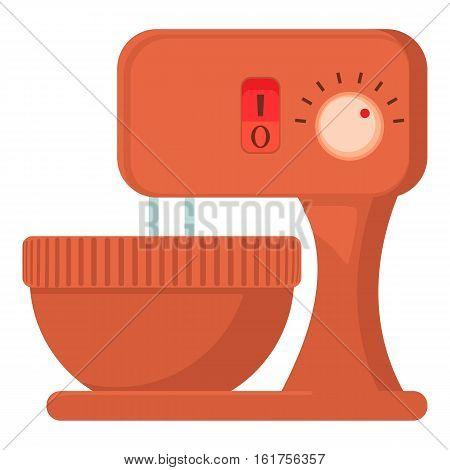 Mixer icon. Cartoon illustration of mixer vector icon for web
