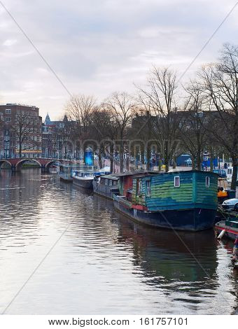 Typical Amsterdam. Netherlands