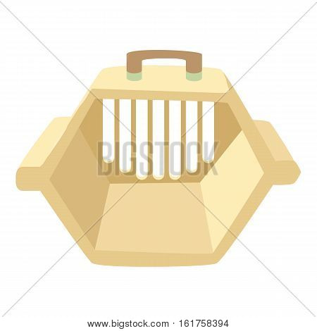 Carrying animals icon. Cartoon illustration of carrying animals vector icon for web