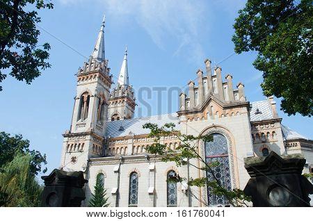 Georgian orthodox cathedral of Virgin Mary in Batumi,Adzharia