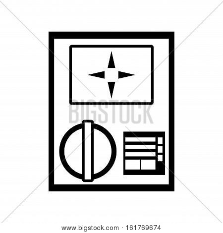 electronic repair calibration maintenance computer linear vector illustration eps 10