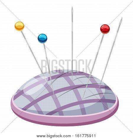 Needle bar icon. Cartoon illustration of needle bar vector icon for web