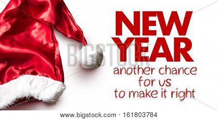 New Year - Another Chance For Us To Make It Right