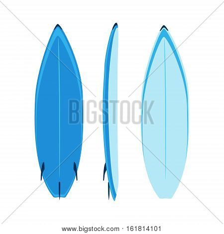 Surfboard Set Vector