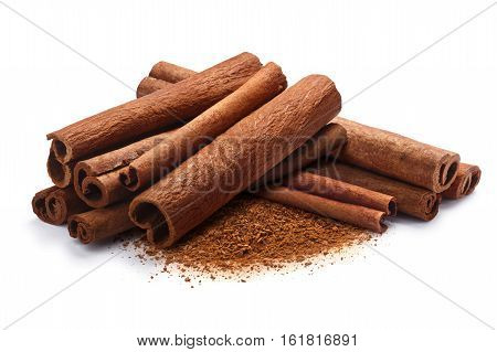 Pile Of Cinnamon In Sticks And Ground, Paths