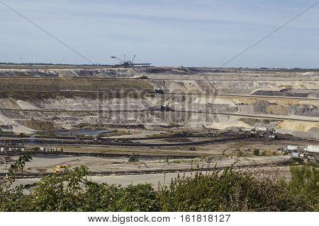 Brown Coal - Opencast Mining Inden