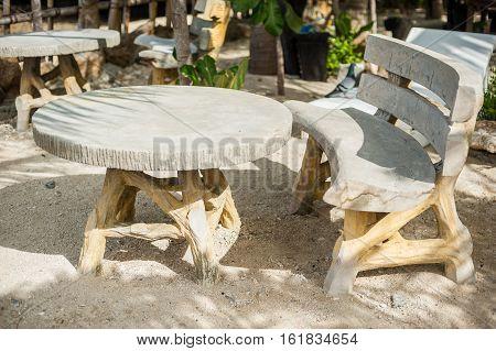 Tables On The Beach, Boracay Philippines