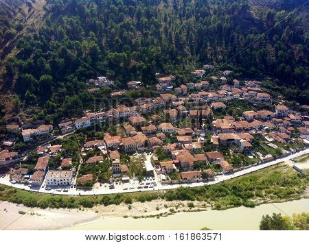 Berat, it is Gorica in Albania he city is more than 2000 years