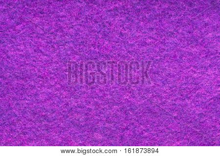 Background And Texture Of Melange Fuzzy Woolen Cloth Of Pink And Purple Colors. Close Up.