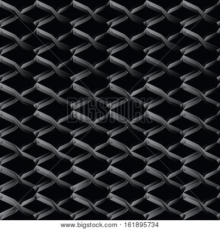 Steel mesh seamless wire pattern background.Vector illustration.
