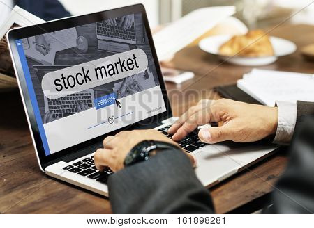Stock Market Finance Business Concept