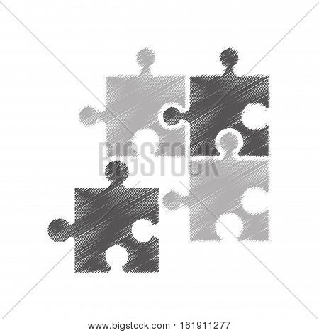 puzzle piece isolated icon vector illustration design
