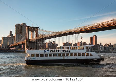 Ny Waterway Transportation Company