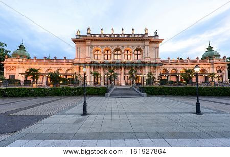 AUSTRIA, VIENNA - MAY 14, 2016: View on museum building at stadpark