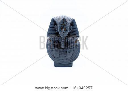 Bust In Alabaster Of The Faraon Tutankhamon.