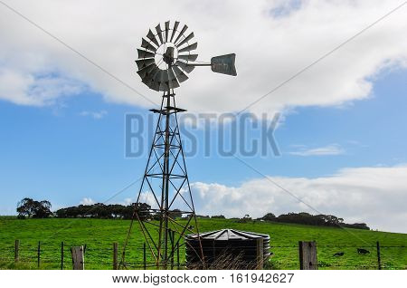 Old Windmill Near Warrnambool, Australia