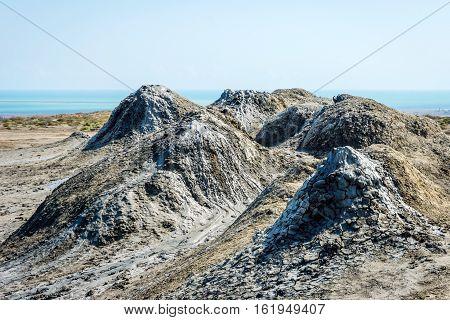 Mud Volcano, Gobustan, Azerbaijan