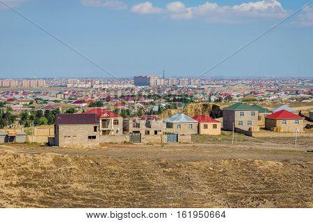Residential Neighborhood In Baku, Azerbaijan