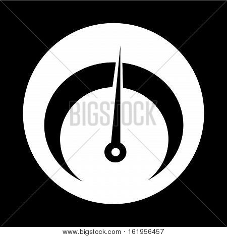 an images of tachometer icon illustration design