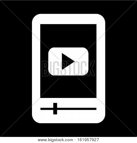 an images of MP3 player icon illustration design