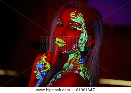 Girl Neon Light