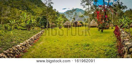 Village In Wamena