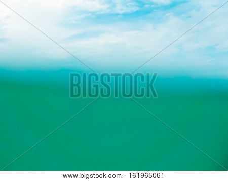 Under Blue Water And Sky