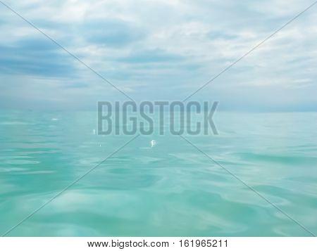 Tropical Blue Sea And Sky