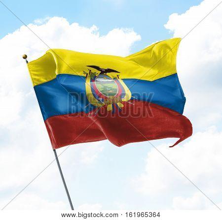 Flag Of Equador