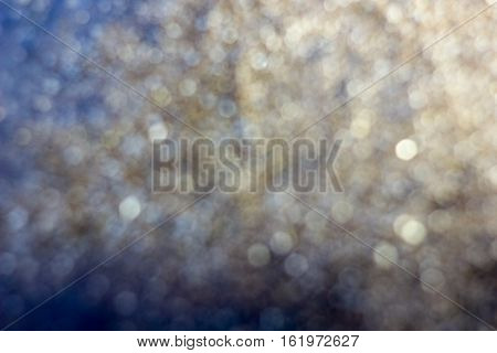 Blured Golden Background - Nice And Beautiful Bokeh