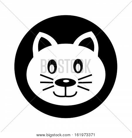an images of Cat icon illustration design